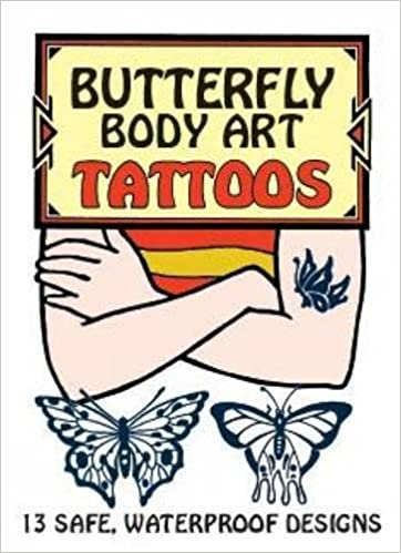 butterfly body art tattoos dover tattoos
