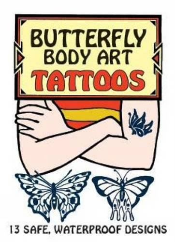 Butterfly Body Art Tattoos (Dover Tattoos)