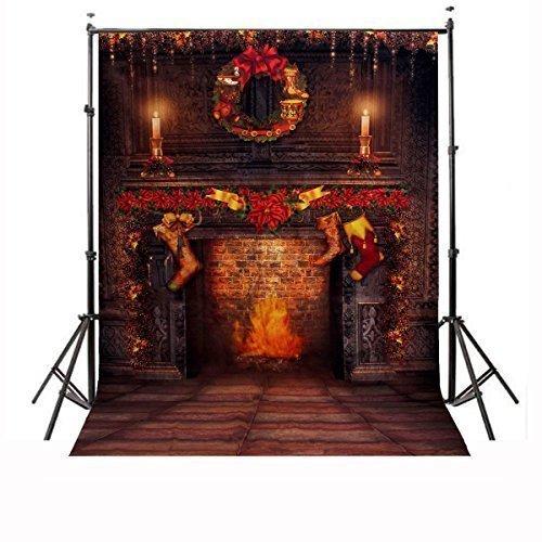 CAMTOA Christmas Photography Background Backdrop product image