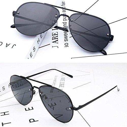 2 Sol Gafas Sol de Coreanas 1 Polarizadas Delgadas Gafas DT Color Gafas de Mujer pqg77w