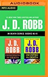 download ebook j. d. robb - in death series: books 40-41: obsession in death, devoted in death pdf epub