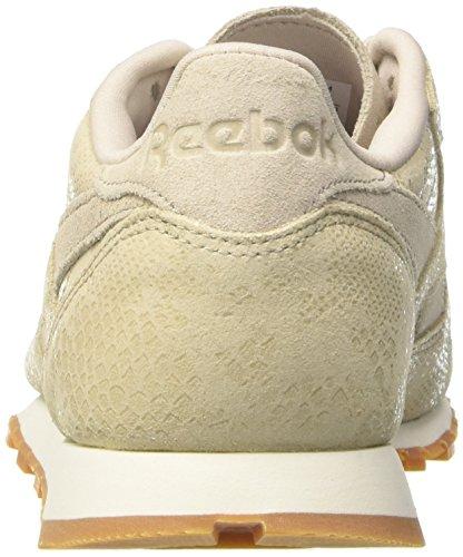 Clean Femme Stone Running Gris gum stucco chalk sand Lthr De Reebok Cl Exotics Chaussures HEwxAnBfq4