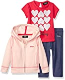DKNY Baby Girls 3 Piece Love T-Shirt, Hoodie, and