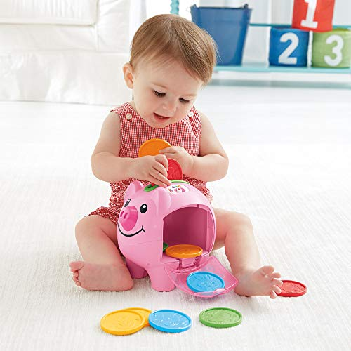 514WU7VQgpL - Fisher-Price Laugh & Learn Smart Stages Piggy Bank [Amazon Exclusive]