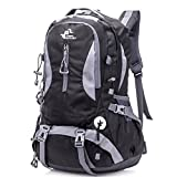 Awaytoy Hiking Backpack 40L Trekker Bag for Climbing Skiing Camping Travel Mountaineering Cycling Black Review
