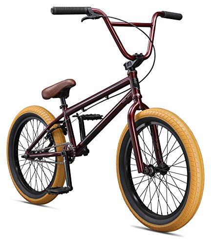 Mongoose Boys Legion L100 Bicycle, Burgundy, One Size/20