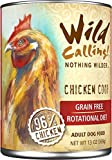 Wild Calling Canned Dog Food - Chicken Coop 96% Chicken - 13 oz - 12 ct by Wild Calling!