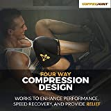 CopperJoint-Copper-Knee-Sleeve-1-Compression-Fit-Support-GUARANTEED-Recovery-Brace-Wear-Anywhere-Single