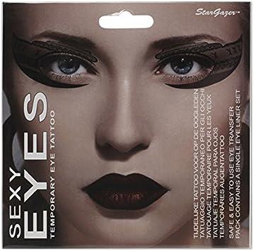 Hada sexy ojo de temporal tatuaje: Amazon.es: Belleza