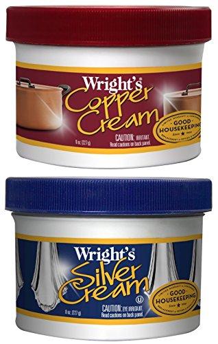 Wrights Silver Cream Polish Copper