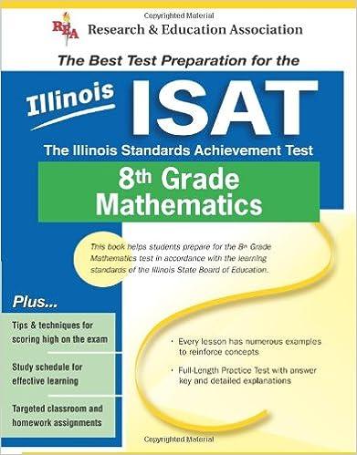 Amazon com: Illinois ISAT Grade 8 Math (Illinois ISAT Test