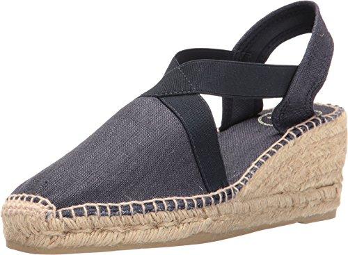 Toni Pons Women's Ter Navy Linen Shoe