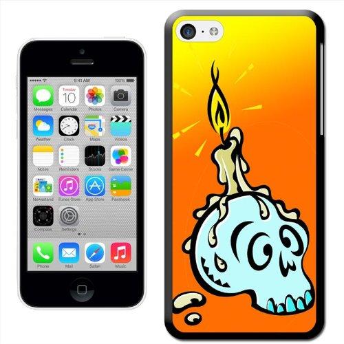 Fancy A Snuggle Coque pour Samsung Galaxy s, 'Witch'crâne et bougie fondue Coque arrière rigide à clipser pour Apple iPhone 5C