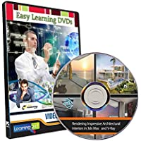 Easy Learning Rendering Impressive Interiors in 3ds Max and V-Ray Video Training (DVD)