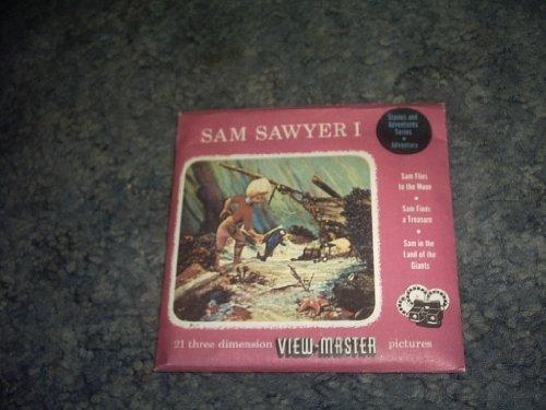 Three Viewmaster Reels (SAM Sawyer I Viewmaster 3 Reel Set)