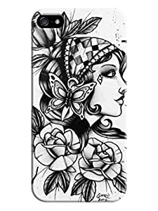 Popular Pretty Girl Style Hard Tpu Case Cover For Iphone 5/5S By Xpeen Phone Cases