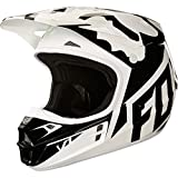 2018 Fox Racing V1 Race Helmet-White/Black-S