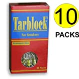 Tarblock Cigarette Filters For Smokers 10 Packs