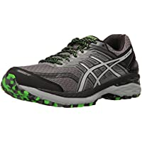Asics GT-2000 5 Trail Men's Athletic Training Shoes (Carbon/Grey/Green)
