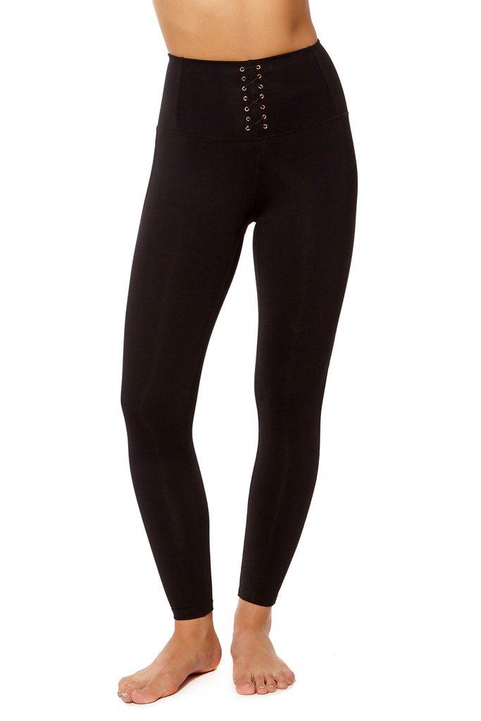 PRJON Form Fitting High-Waisted Leggings Black M