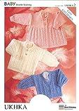 UK Hand Knit Association Baby Cardigan & Matinee Coat DK Knitting Pattern UKHKA by UKHKA