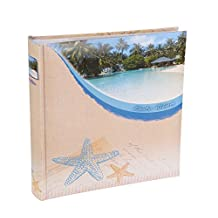 Holiday Pool Photo Album - With Memo Writing Space - Holds 200 Photos (6 x 4)