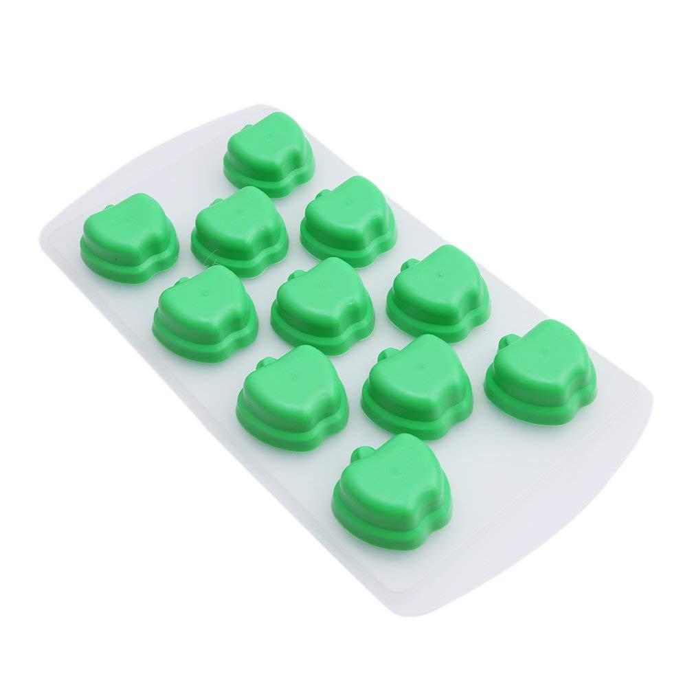 Molde de silicona para fondant o dulces, diseño de estrella de cinco puntas de Pinhui Apple: Amazon.es: Hogar