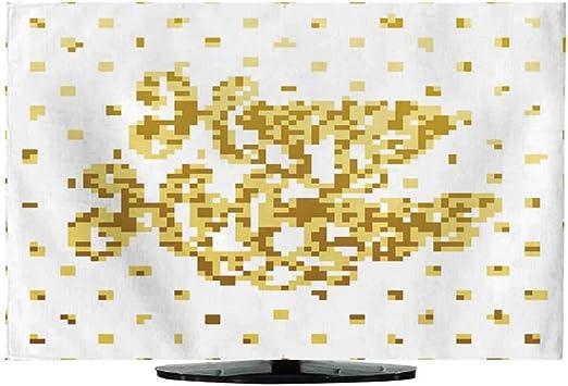 Funda de Tela para TV con diseño de día Festivo, Caja de Regalo ...