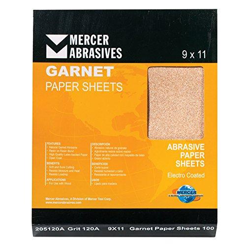 mercer-industries-205080a-grit-80-a-weight-9-x-11-garnet-paper-sheets-50-pack