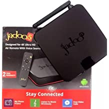 JADOO 5 4K ULTRA HD QUAD CORE 2GB DDR W/AIR REMOTE WITH VOICE ( Jadoo 4,BTV)