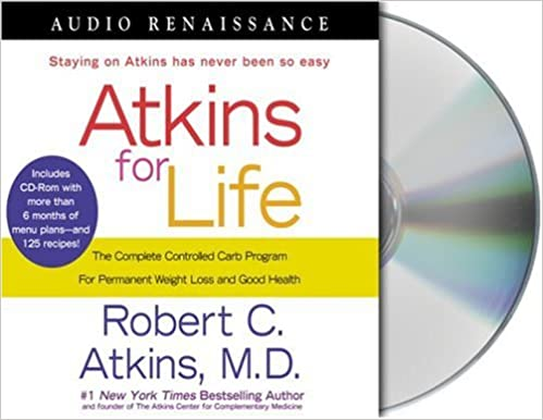 ``ZIP`` Atkins For Life: The Complete Controlled Carb Program For Permanent Weight Loss And Good Health. mobile landline NUEVOS articulo emitida Masters porque