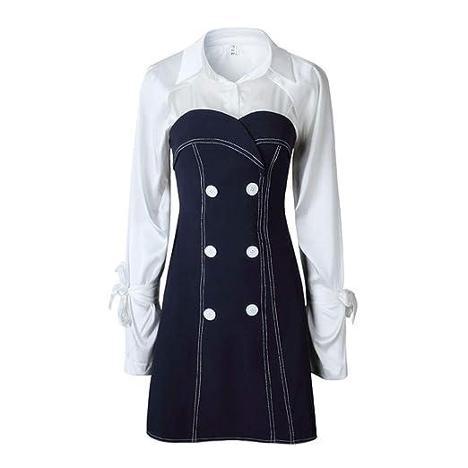 Vestido de mujer Vestido de negocios de dos piezas para mujer ...