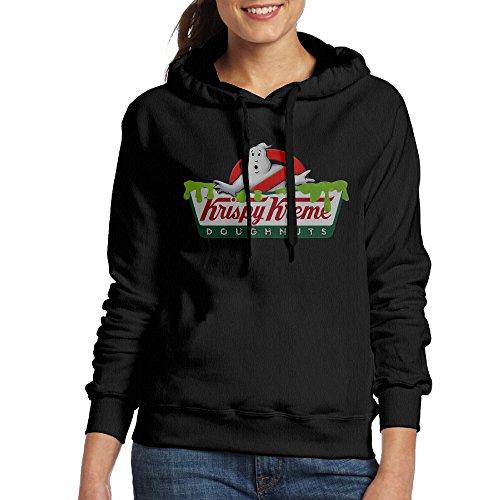 loyra-womens-ghost-doughnut-logo-sweater-size-m-black