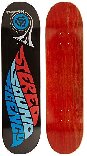 Stereo Skateboards Sound Agency Skateboard Deck, 8,Color may vary (Upper Deck)