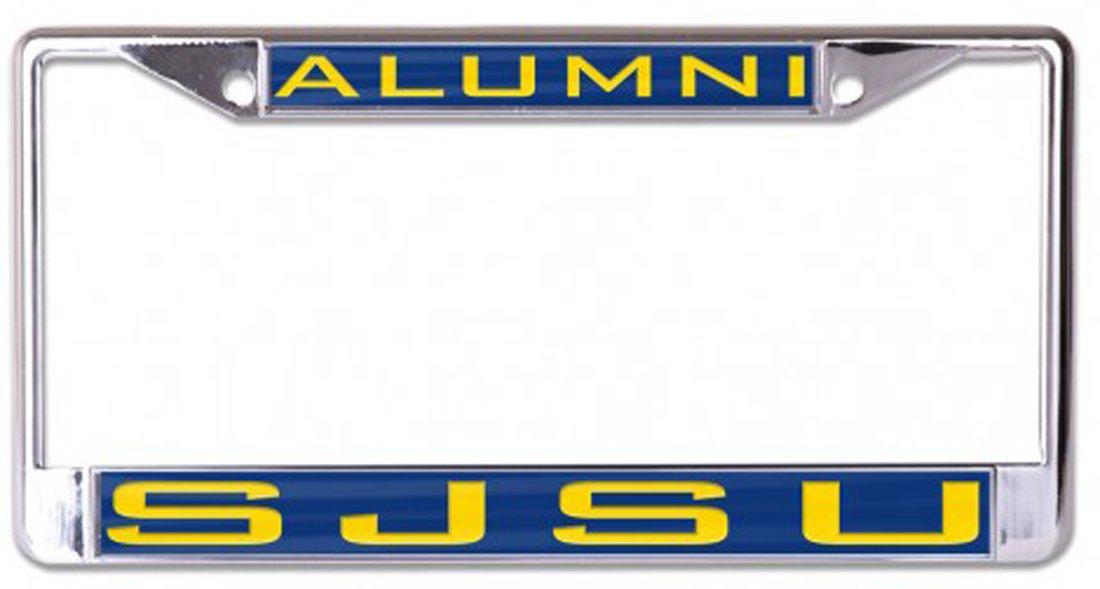 Metal with Inlaid Acrylic Wincraft San Jose State University Alumni SJSU Spartans License Plate Frame
