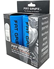 """Fat Gripz Pro - The Simple Proven Way to Get Big Biceps & Forearms Fast (Winner of The Men's Health Magazine Home Gym Award 2020) (2.25"""" Outer Diameter)"""