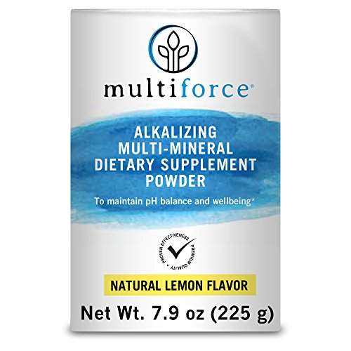 Alkalizing Powder (Multiforce Alkalizing Multimineral Supplement for Healthy pH Balance and Reduced Acidity)