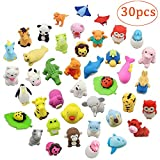 Studyset 30PCS Funny Toys Animal Shaped Erasers Collectible Assorted Puzzle Erasers School Supplies Gifts