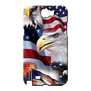 samsung note 2 Excellent Scratch-proof Skin Cases Covers For phone mobile phone carrying covers patriotic usa