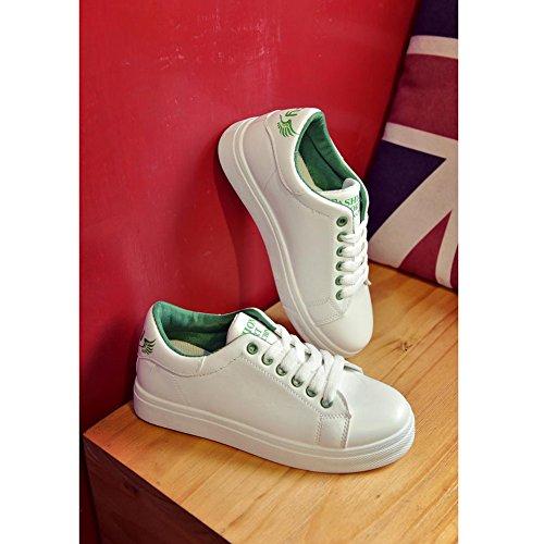 Donna Baskets Kivors Ginnastica Sneaker Pour Retrò Femme Sportive Vert Da Casual Basse Outdoor Scarpe rYr5qvxw