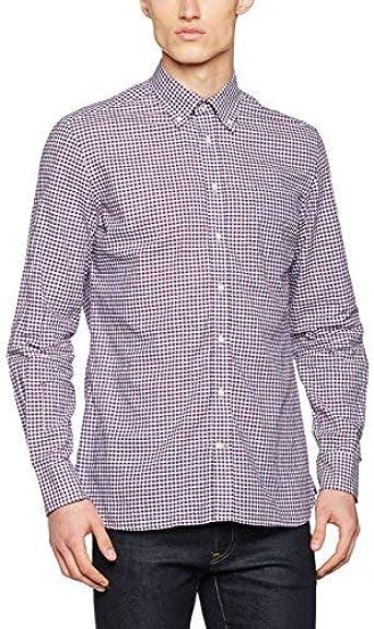 Hackett London Chambray Check Camisa, (Blue/Multi 5AL), XL para Hombre: Amazon.es: Ropa y accesorios