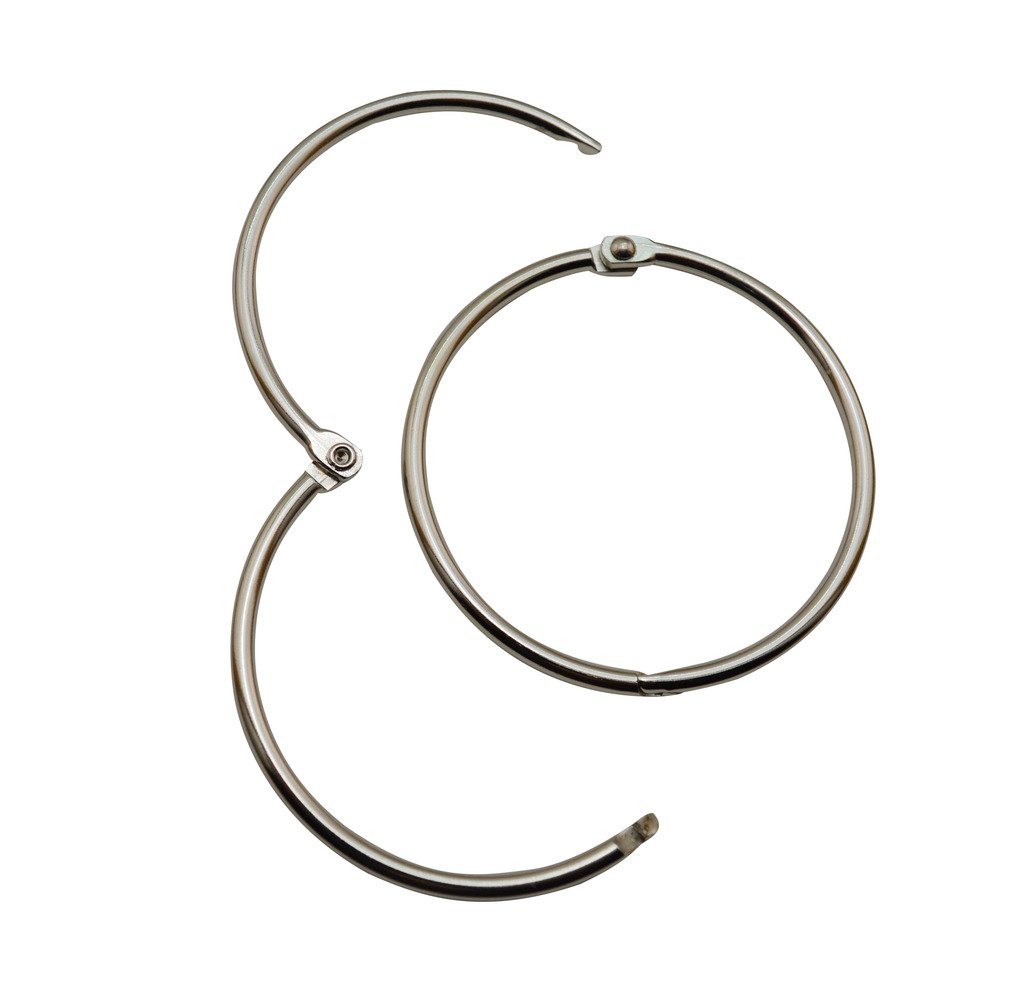 Ailisi 2 Inside Diameter Book Rings Pack of 6