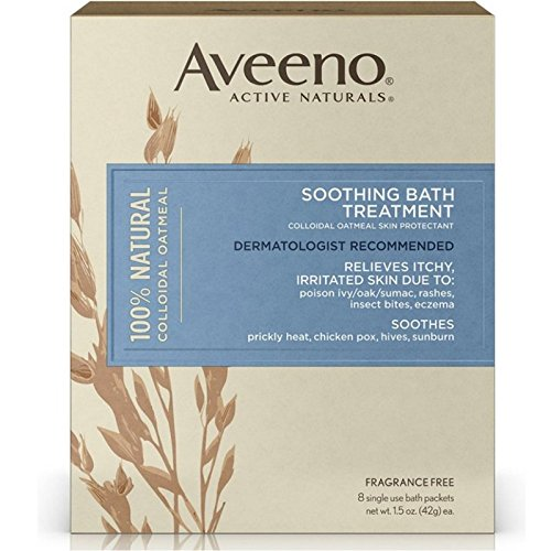 AVEENO Soothing Bath Treatment 8 packs - 7