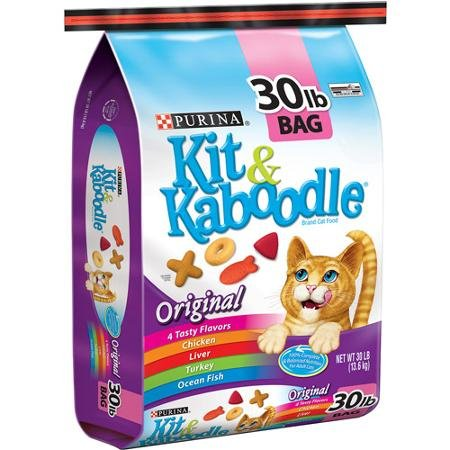 Purina Kit and Kaboodle Dry Lip-smackin' Combination of F...