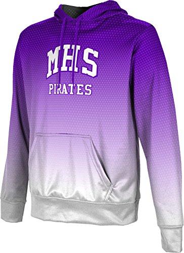ProSphere Men's Merrillville High School Zoom Hoodie Sweatshirt - Shops Indiana Merrillville Dress In
