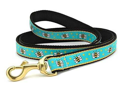 Image of Up Country Bee Dog Leash - 4 Ft Wide