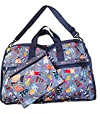 LeSportsac Donna Wilson Singing In The Woods Large Weekender Bag + Cosmetic Bag