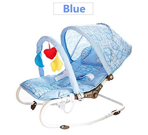 Vedar Newborn-to-toddler Portable Rocker New by Vedar__Blue