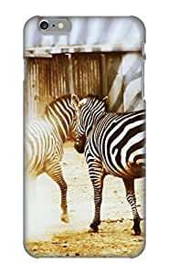 Kathewade High Quality Shock Absorbing Case For Iphone 6 Plus-animal Zebra