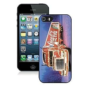 Custom Iphone 5S Protective Case Merry Christmas iPhone 5 5S TPU Case 66 Black